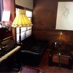 カフェ ココット - ピアノがあったりして