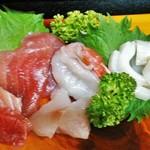 酒処さくら - 料理写真:お刺身