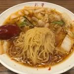 91585963 - サイカラーメン小の麺