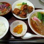 い志い食堂 - 料理写真:Aセット!