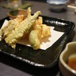 河良 - 料理写真:鶏天ぷら