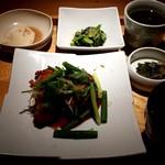 えん - 本日の肉料理:1,080円