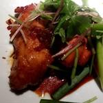 えん - 鶏の甘辛ソース焼き