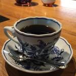 サザ コーヒー - 「サザ・贅沢ブレンド」600円  素敵なカップで飲むのもサザの楽しみ。