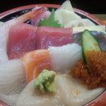 千歳鮨 - 料理写真:並ふきよせ1200円