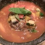 トマト&オニオン - 石焼TOMATOハンバーグ  971円