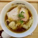 91592645 - わんたん入り醤油らぁ麺(1100円)