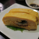 魚酒場 汐◯ - 鰻入り厚焼き玉子