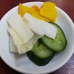 中国料理 江陽 - 漬物