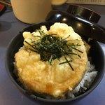 91596763 - 野菜天丼¥580。