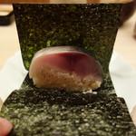 91599523 - ◎鯖寿司、海苔