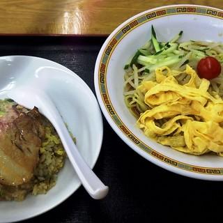 ラーメン麗 - 料理写真:冷麺・炒飯セット(日替わり)