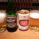 ニャー・ヴェトナム - <2008年11月>ベトナムのビール