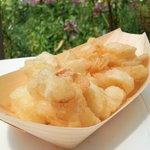富士見高原ゆりの里 しらかば売店 - 料理写真:ゆり根の天ぷら