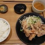 91600036 - 鶏唐揚げ定食(税込み850円)