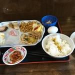 ホテル光南 - 料理写真:朝食バイキング700円  1回目