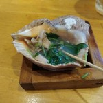 貝つぼ焼 大谷 - つぼ焼き600円