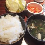 福牛 - ランチセット