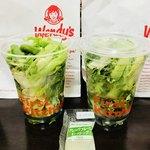 ウェンディーズ・ファーストキッチン - 緑の酵素サラダ420円