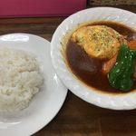 スープカレー カムイ - 「ツナマヨオムのスープカレー」1,300円