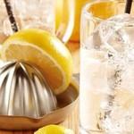鶏料理専門店 とりかく - 生搾りレモンサワー