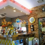 ムーンカフェ - POPで可愛い店内でした♪