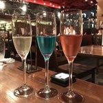 イタリアン クアトロ - スパークリングワインの飲み比べ