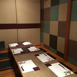 ◇接待・会食◇2名様~10名様用の個室あり。大切なお食事に◎