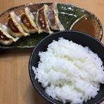 蔵出し味噌 麺場 田所商店 - 餃子ライスセット