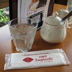 CAFE Suginoki - テーブル