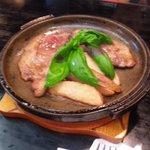 Yamamba - イノシシの陶板オイル焼き