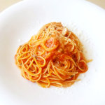 9161812 - スパゲッティ_バジルとパルミジャーノチーズのトマトソース