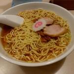 赤坂味一 - 中華そば(600円)