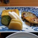 91614010 - 西京焼き、厚焼き玉子