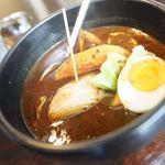 スープカリー専門店 元祖 札幌ドミニカ - 黒、トントロ