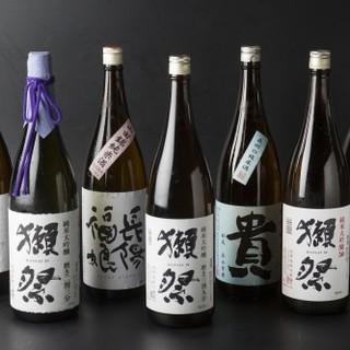 店主厳選!山口県ゆかりの《地酒》と【瓦そば】で一献傾ける。