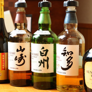 珍しいお酒など150種類のドリンクをお楽しみいただけます!