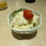 西成二代目にしかわや - ポテトサラダ
