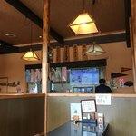 ファミリーレストラン道 - 店内はこんな感じです。