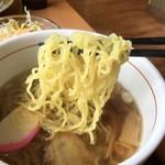 ファミリーレストラン道 - 麺リフトアップ