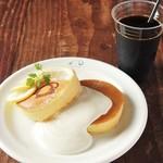 レモン&レアチーズパンケーキ80's(2枚)