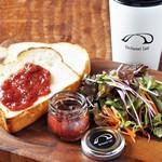 ベシャメルカフェ - 【Morning】贅沢ジャムのトーストプレート