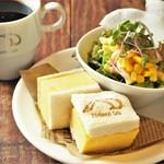 ベシャメルカフェ - 【Morning】厚焼きたまごサンドセット