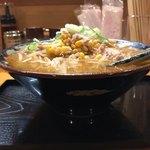 紀の川 - 料理写真:サッポロ味噌ラーメン750円