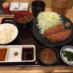 牛カツ京都勝牛 - 特選 上牛カツ膳 税込み1,706円