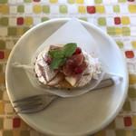 ウレタノ カフェ - オレンジとイチジクのタルト @380
