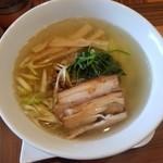 ラーメン・カフェ マルタケ - しおらーめん 700円