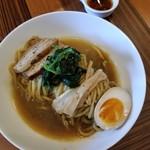 ラーメン・カフェ マルタケ - 極太麺の油そば 700円