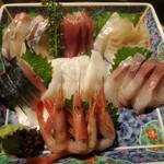 魚仙 - 料理写真:刺身7点盛(魚仙盛) 2400円→1200円 ※日曜日半額サービス