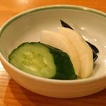 日本料理 たかむら - 香の物